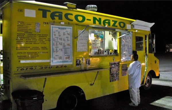 Ejemplo de nombre de camión de comida pegadiza