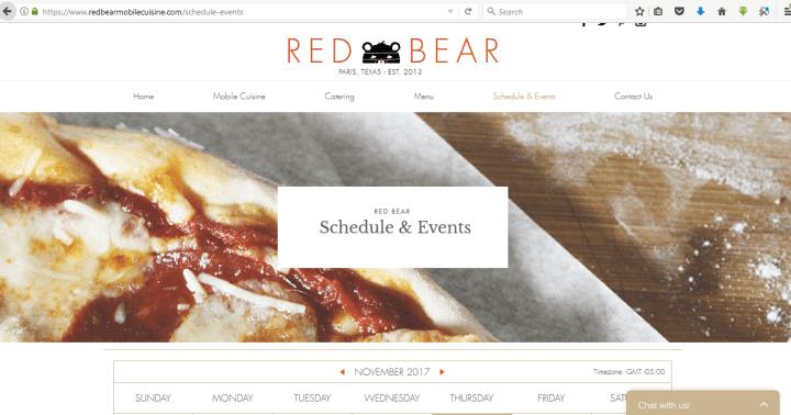 Crea un sitio web para comercializar tu camión de comida.