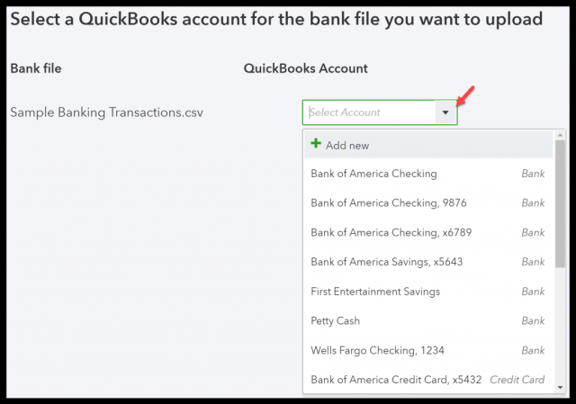 quickbooks import credit card transactions   Applydocoument co