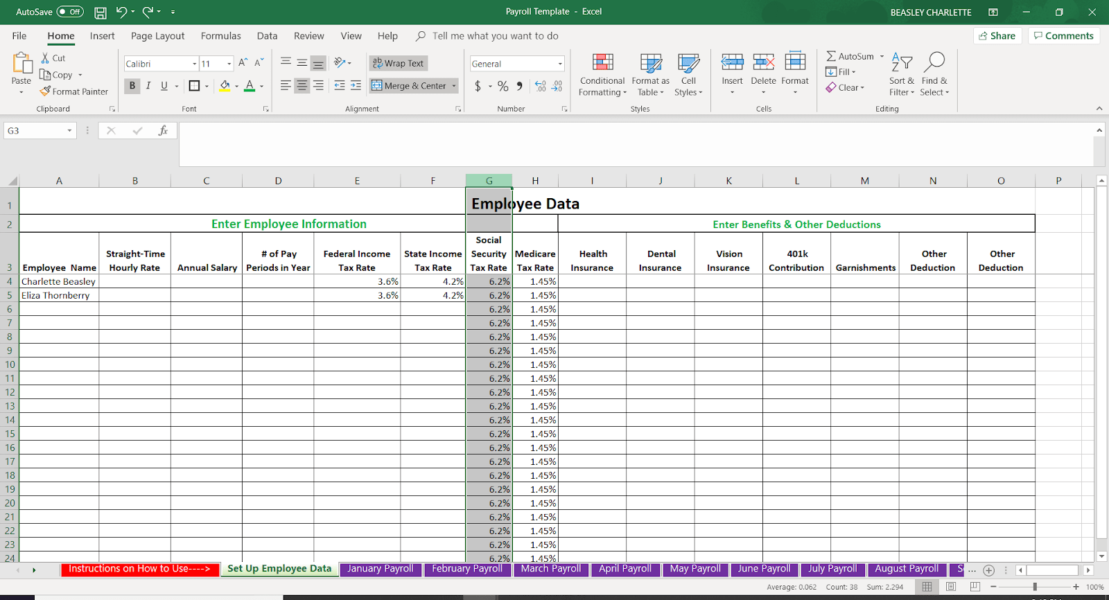 Sample Excel Templates Payroll Template Excel Free