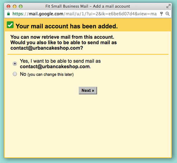 Verifica email Gmail