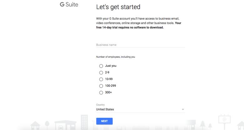 Processo di registrazione di Gmail