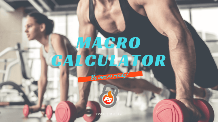 fitstinct macro calculator