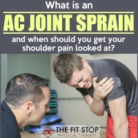What is an AC Joint Separation and How Can PT Help?