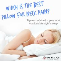 Which pillow is the best for neck pain?