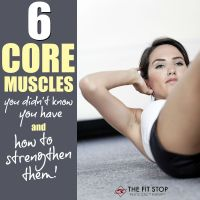 6 Core Muscles You Didn't Know You Had - And How To Train Them!