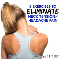How to decrease neck tension and headache