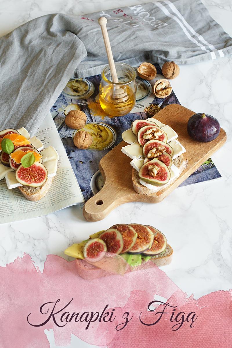 3 fikuśne kanapki z figą