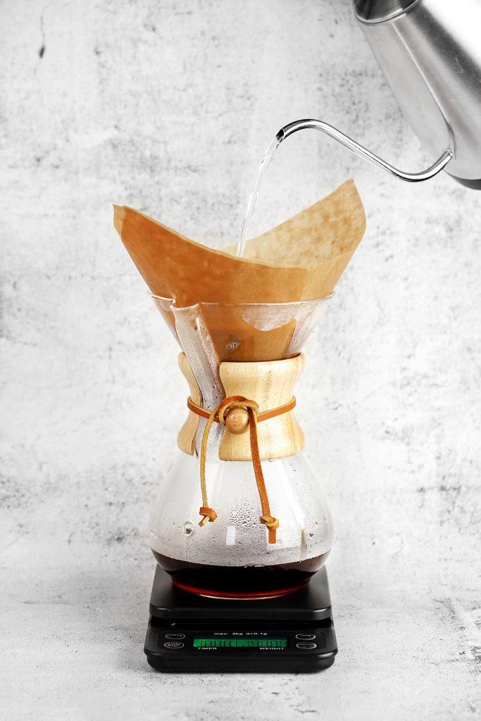 Alternatywne metody parzenia kawy - chemex.