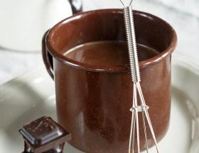 Gorąca czekolada z kawą