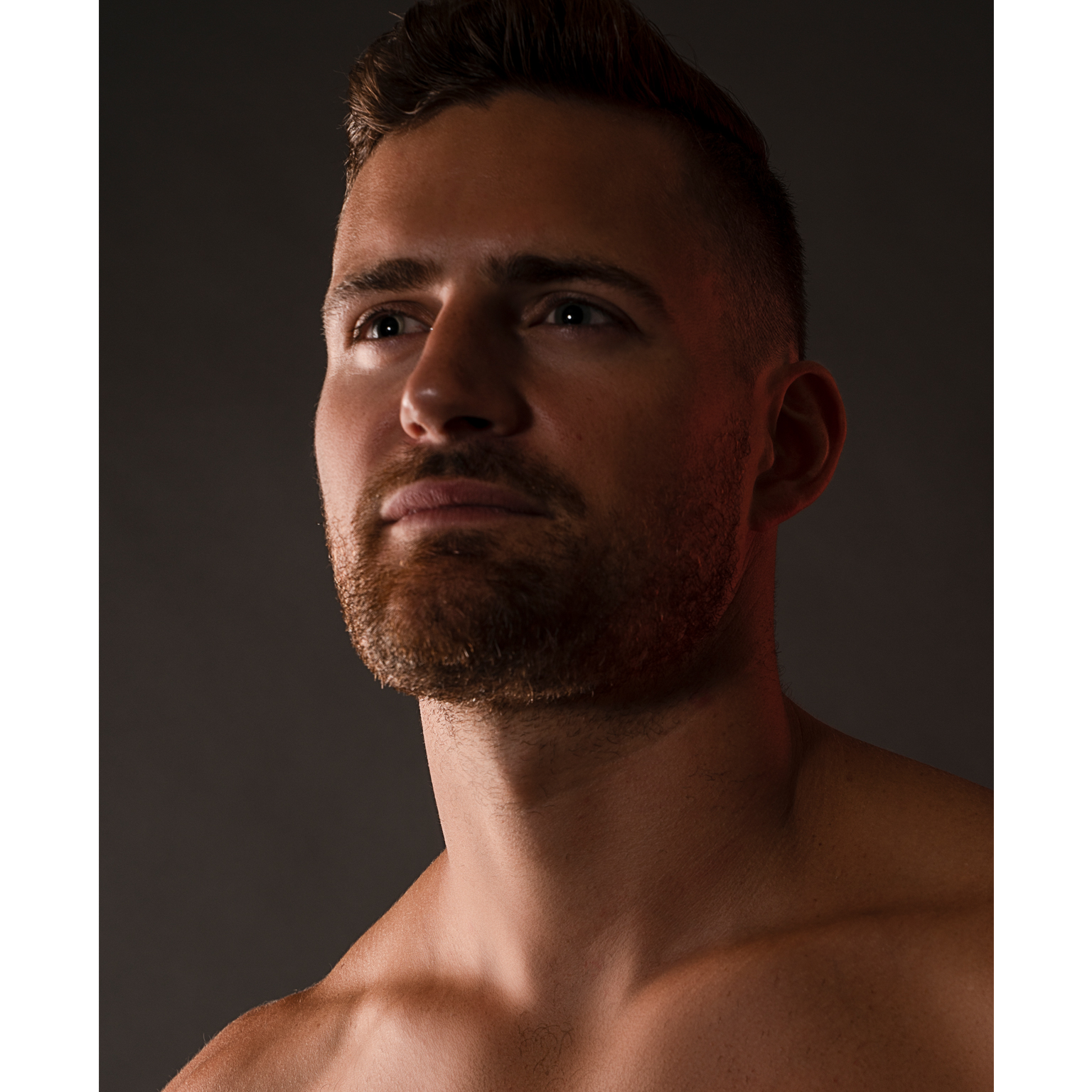 Toronto-Fitness-Model-Agency-Shirtless-Portrait-Justin-Baker