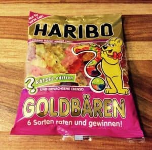 HARIBO GOLDBÄREN RÄTSEL Edition