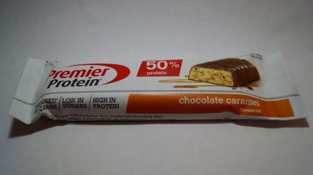 Premier Protein Proteinriegel test