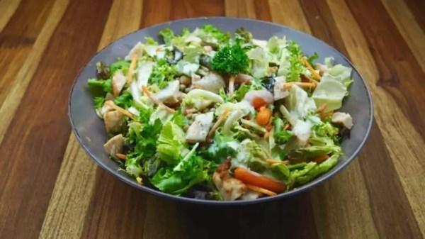 10 Minuten Gartensalat