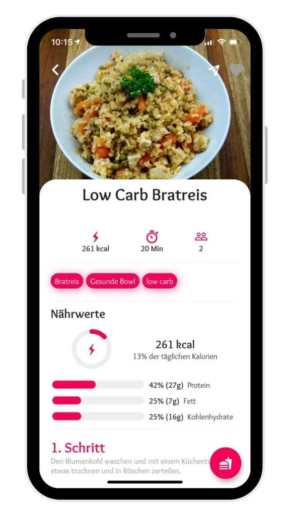 The Fitness Recipes App