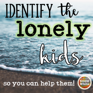Identify the lonely kids in your classroom setup!