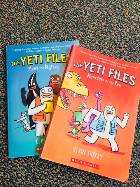The Yeti Files are popular picks in my classroom library.