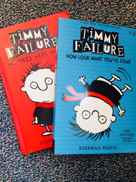 Timmy Failure in my classroom library.