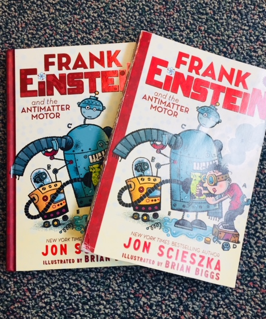 All the Jon Scieszka books in my classroom library are popular.