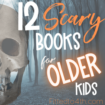 12 Scary books for older kids
