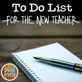 The Back to School teacher to do list for best teacher practices on landing a new job.