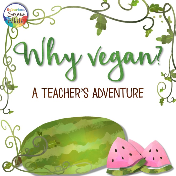 why vegan? A teachers' adventure