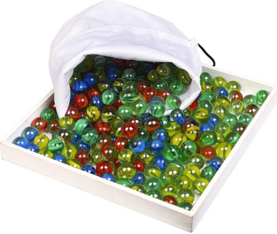 Most people don't think of marbles when they think of inexpensive gifts for students, but the kids love them!