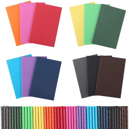 For inexpensive gifts for students, grab them some colorful mini notebooks.