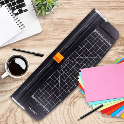 This papercutter makes a terrific Practical Holiday Gift Idea for Teachers