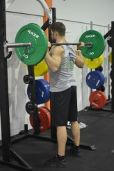 Barbell Back Squat 1