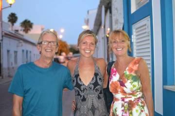 Keris and her Parents