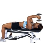 Laying Tricep Extension