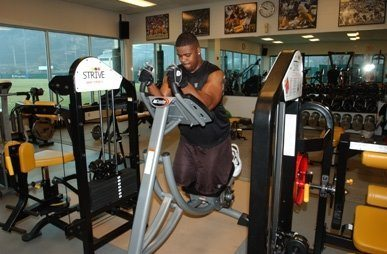 steelers working out