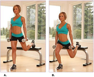 bench-lunge