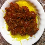 Low Carb Spaghetti – Ground Turkey With Spaghetti Squash