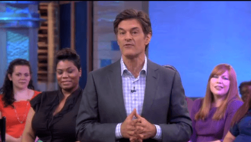Dr. Oz Tips To Combat Crows Feet, Saddle Bags, and Bat Wings