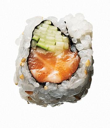low calorie sushi