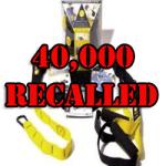 TRX Suspension Training System 40,000 Recalled