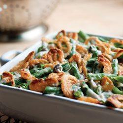 low fat green bean casserole