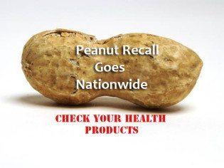 peanut recall