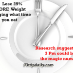 Correctly Timing Your Meals Could Make You Lose 29 Percent MORE Weight