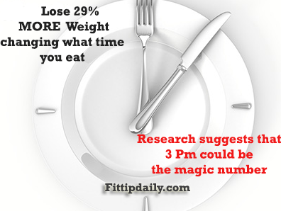 weight loss and timing