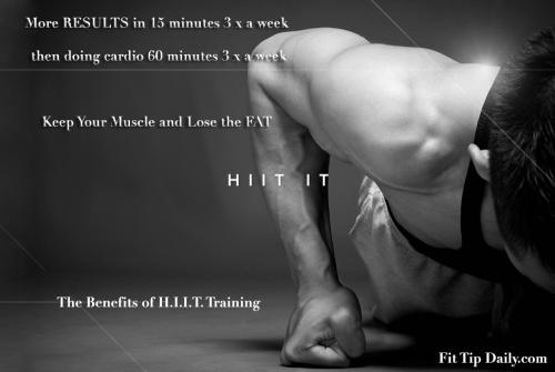 HIIT training program