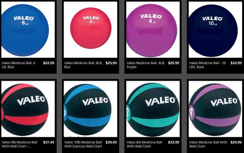 medicine balls