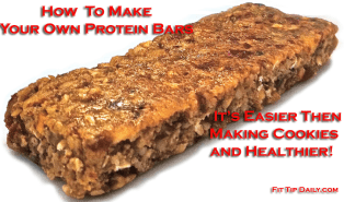 how to make your own protein bars recipe