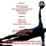 Can you Handle It – Body Burn Circuit Training Routine