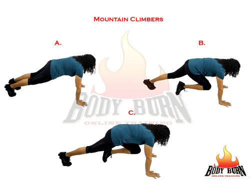 mountain climber exercises