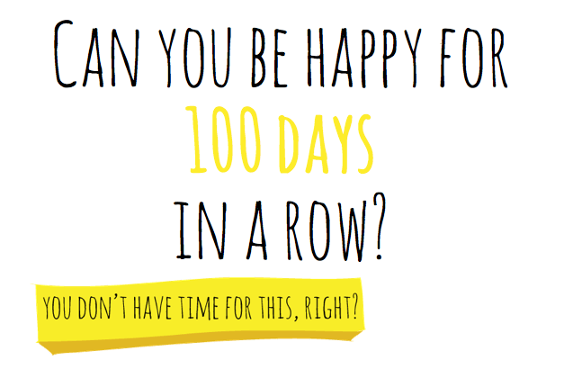 happy for 100 days