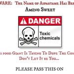 Buyer Beware – Food Giant Changes the Name Of Aspartame