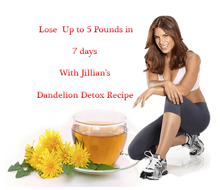jillian dandelion detox recipe